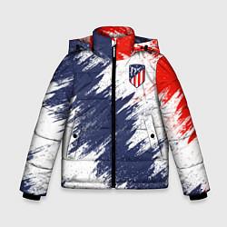 Куртка зимняя для мальчика FC Atletico Madrid цвета 3D-черный — фото 1