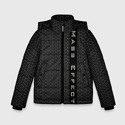 Куртка зимняя для мальчика Mass Effect: Carbon цвета 3D-черный — фото 1