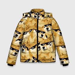 Зимняя куртка для мальчика Doge: Deal with it