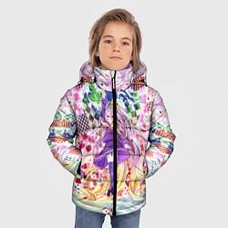 Куртка зимняя для мальчика No Game No Life 9 цвета 3D-черный — фото 2