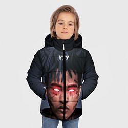 Куртка зимняя для мальчика XXXTentacion Demon цвета 3D-черный — фото 2