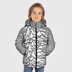 Детская зимняя куртка для мальчика с принтом White Pleasures, цвет: 3D-черный, артикул: 10152526906063 — фото 2