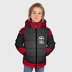 Куртка зимняя для мальчика Toyota: Metal Sport цвета 3D-черный — фото 2