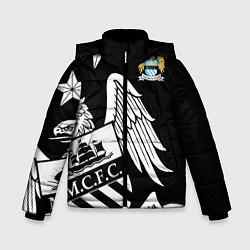 Детская зимняя куртка для мальчика с принтом FC Manchester City: Exclusive, цвет: 3D-черный, артикул: 10152836906063 — фото 1