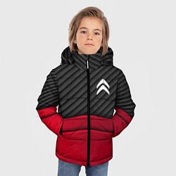 Куртка зимняя для мальчика Citroen: Red Carbon цвета 3D-черный — фото 2