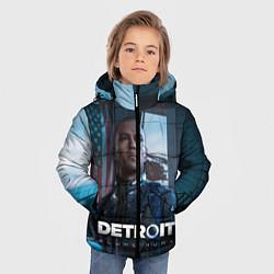 Куртка зимняя для мальчика Detroit: Markus цвета 3D-черный — фото 2