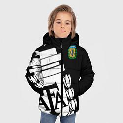 Куртка зимняя для мальчика Argentina Team: Exclusive цвета 3D-черный — фото 2