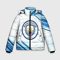 Куртка зимняя для мальчика Manchester city цвета 3D-черный — фото 1