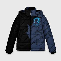 Куртка зимняя для мальчика CS:GO Team Liquid цвета 3D-черный — фото 1