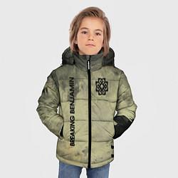 Куртка зимняя для мальчика Breaking Benjamin цвета 3D-черный — фото 2