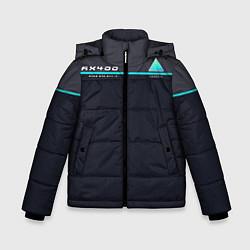 Куртка зимняя для мальчика Detroit: AX400 цвета 3D-черный — фото 1