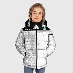 Куртка зимняя для мальчика Detroit: RK900 цвета 3D-черный — фото 2