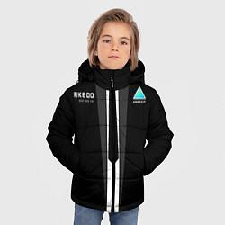 Куртка зимняя для мальчика RK800 Android Black цвета 3D-черный — фото 2
