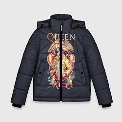 Куртка зимняя для мальчика Queen цвета 3D-черный — фото 1