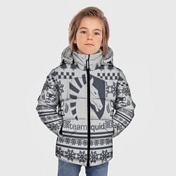 Куртка зимняя для мальчика Team Liquid: Grey Winter цвета 3D-черный — фото 2