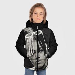 Куртка зимняя для мальчика XXXTentacion цвета 3D-черный — фото 2