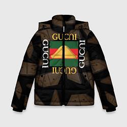Куртка зимняя для мальчика Gusli Gusli цвета 3D-черный — фото 1