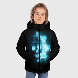 Куртка зимняя для мальчика Gears of War: Death Shadow цвета 3D-черный — фото 2