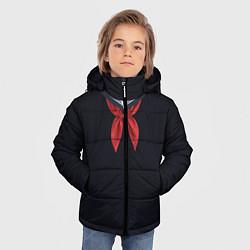Куртка зимняя для мальчика Пионер ВМФ: черный цвета 3D-черный — фото 2