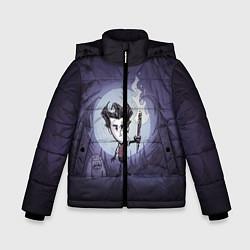 Куртка зимняя для мальчика Wilson under the moon цвета 3D-черный — фото 1