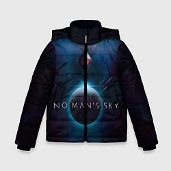 Куртка зимняя для мальчика No Man's Sky: Dark Space цвета 3D-черный — фото 1