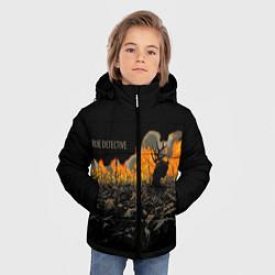 Куртка зимняя для мальчика True Detective: Fire цвета 3D-черный — фото 2
