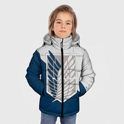 Куртка зимняя для мальчика Крылья Свободы цвета 3D-черный — фото 2