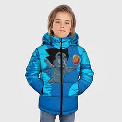 Куртка зимняя для мальчика Smells Like: Dragon Ball Z цвета 3D-черный — фото 2