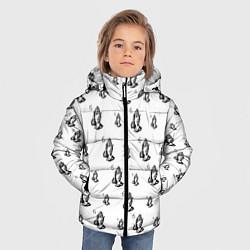 Куртка зимняя для мальчика Drake - six цвета 3D-черный — фото 2