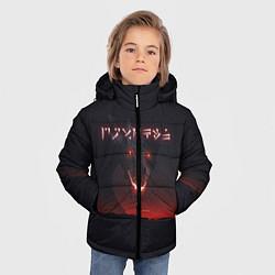 Куртка зимняя для мальчика TES: Hell Dragon цвета 3D-черный — фото 2