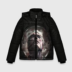 Куртка зимняя для мальчика Death Stranding: Mads Mikkelsen цвета 3D-черный — фото 1