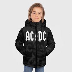 Куртка зимняя для мальчика AC/DC: Black Rock цвета 3D-черный — фото 2