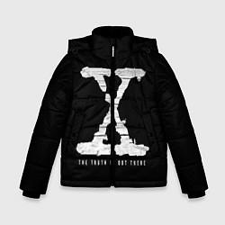 Куртка зимняя для мальчика The Truth Is Out There цвета 3D-черный — фото 1