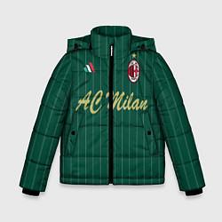 Куртка зимняя для мальчика AC Milan: Green Form цвета 3D-черный — фото 1