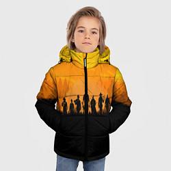 Куртка зимняя для мальчика Red Dead Redemption: Orange Sun цвета 3D-черный — фото 2