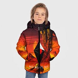 Куртка зимняя для мальчика No Man's Sky: Red Dust цвета 3D-черный — фото 2