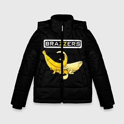 Детская зимняя куртка для мальчика с принтом Brazzers: Black Banana, цвет: 3D-черный, артикул: 10167454706063 — фото 1