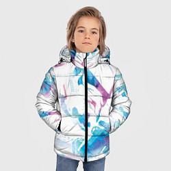 Куртка зимняя для мальчика Неоновый штурмовик цвета 3D-черный — фото 2