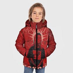 Куртка зимняя для мальчика Ghostemane Hexada цвета 3D-черный — фото 2