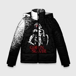 Куртка зимняя для мальчика Goblin Slayer цвета 3D-черный — фото 1