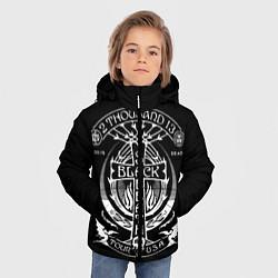 Куртка зимняя для мальчика Black Sabbath: Tour USA цвета 3D-черный — фото 2