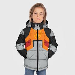 Куртка зимняя для мальчика Гордон Фримен цвета 3D-черный — фото 2
