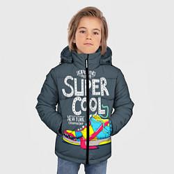 Куртка зимняя для мальчика Super Сool цвета 3D-черный — фото 2