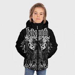 Куртка зимняя для мальчика Behemoth: Abyssus Abyssum Invocat цвета 3D-черный — фото 2
