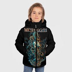 Куртка зимняя для мальчика Meshuggah: Violent Sleep цвета 3D-черный — фото 2