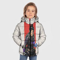 Куртка зимняя для мальчика Apex Legends: Wraith цвета 3D-черный — фото 2