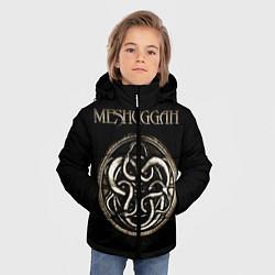 Детская зимняя куртка для мальчика с принтом Meshuggah, цвет: 3D-черный, артикул: 10172781506063 — фото 2