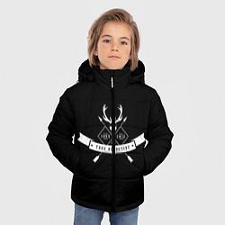 Куртка зимняя для мальчика True Detective: 1995-2012 цвета 3D-черный — фото 2