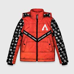 Куртка зимняя для мальчика Apex Legends: Gamer цвета 3D-черный — фото 1