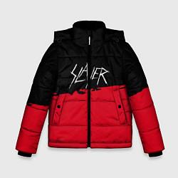 Куртка зимняя для мальчика Slayer: Black & Red цвета 3D-черный — фото 1